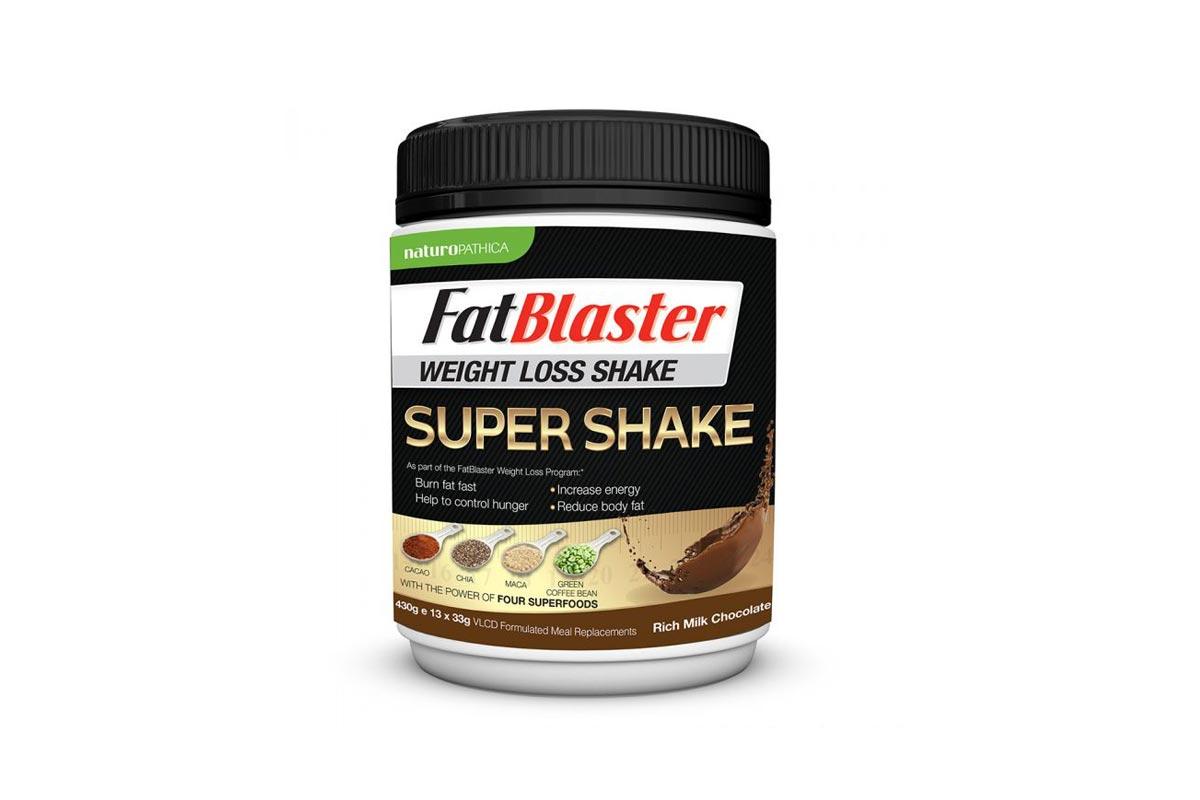 Fatblaster Weight Loss Shake Super Shake Rich Milk Chocolate 430g